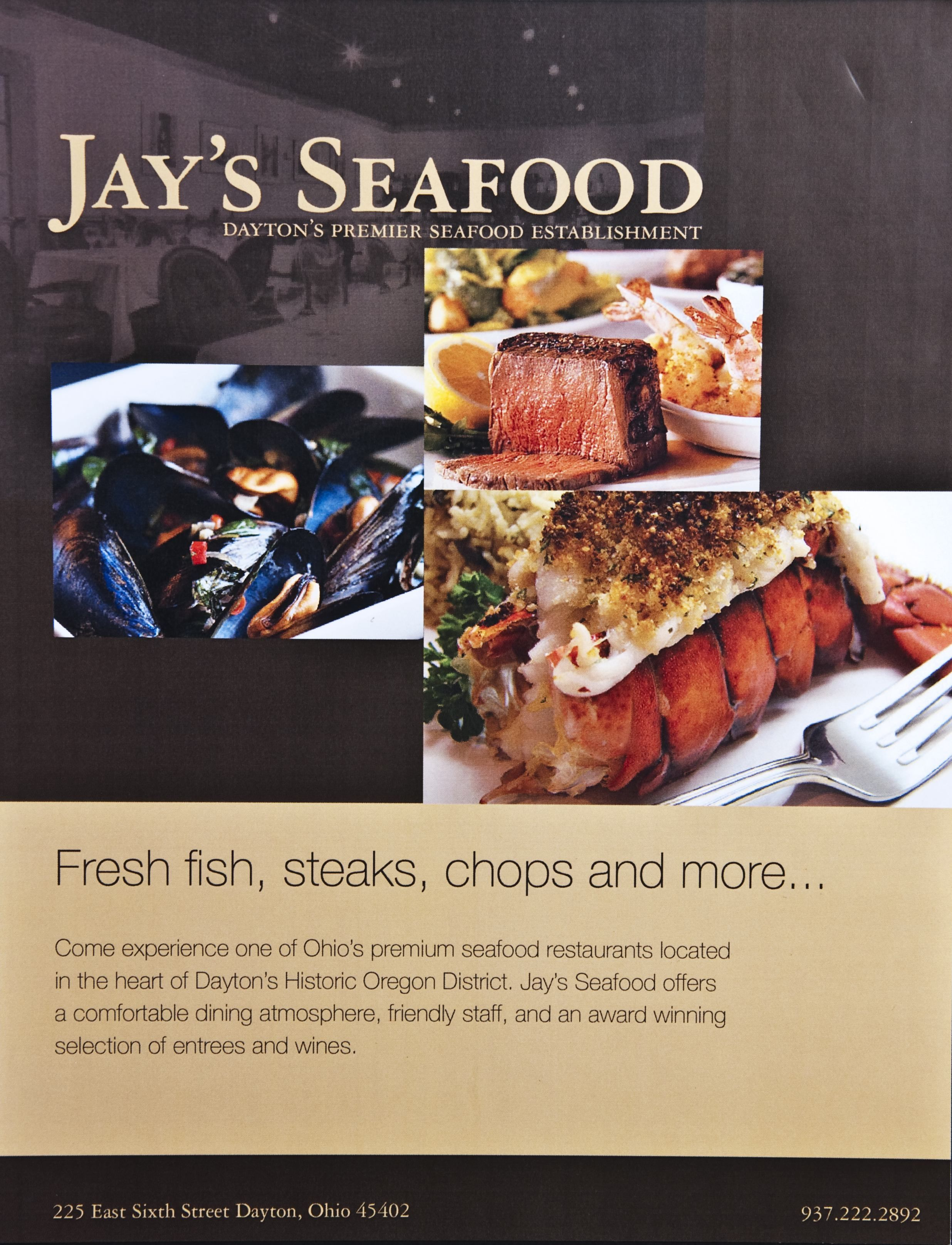 Jay S Seafood Dayton Ohio Locally Owned And Operated By Haverstick