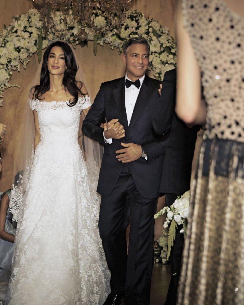 amal clooney's wedding dress is getting its own exhibit