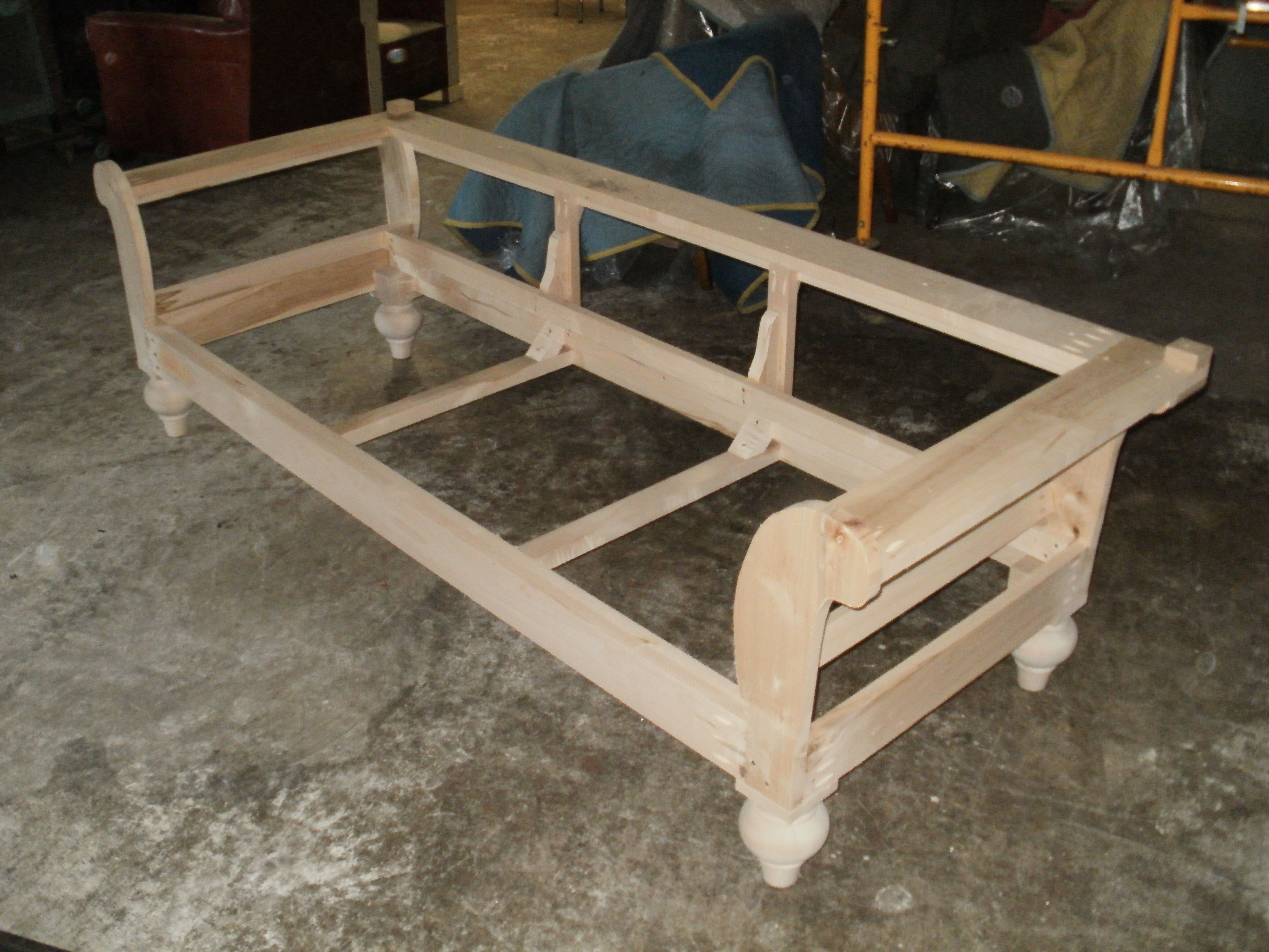 Sofa Frame Construction : ... Sofa Project Upholstery Links Sofa Frame  Solid Wood Construction