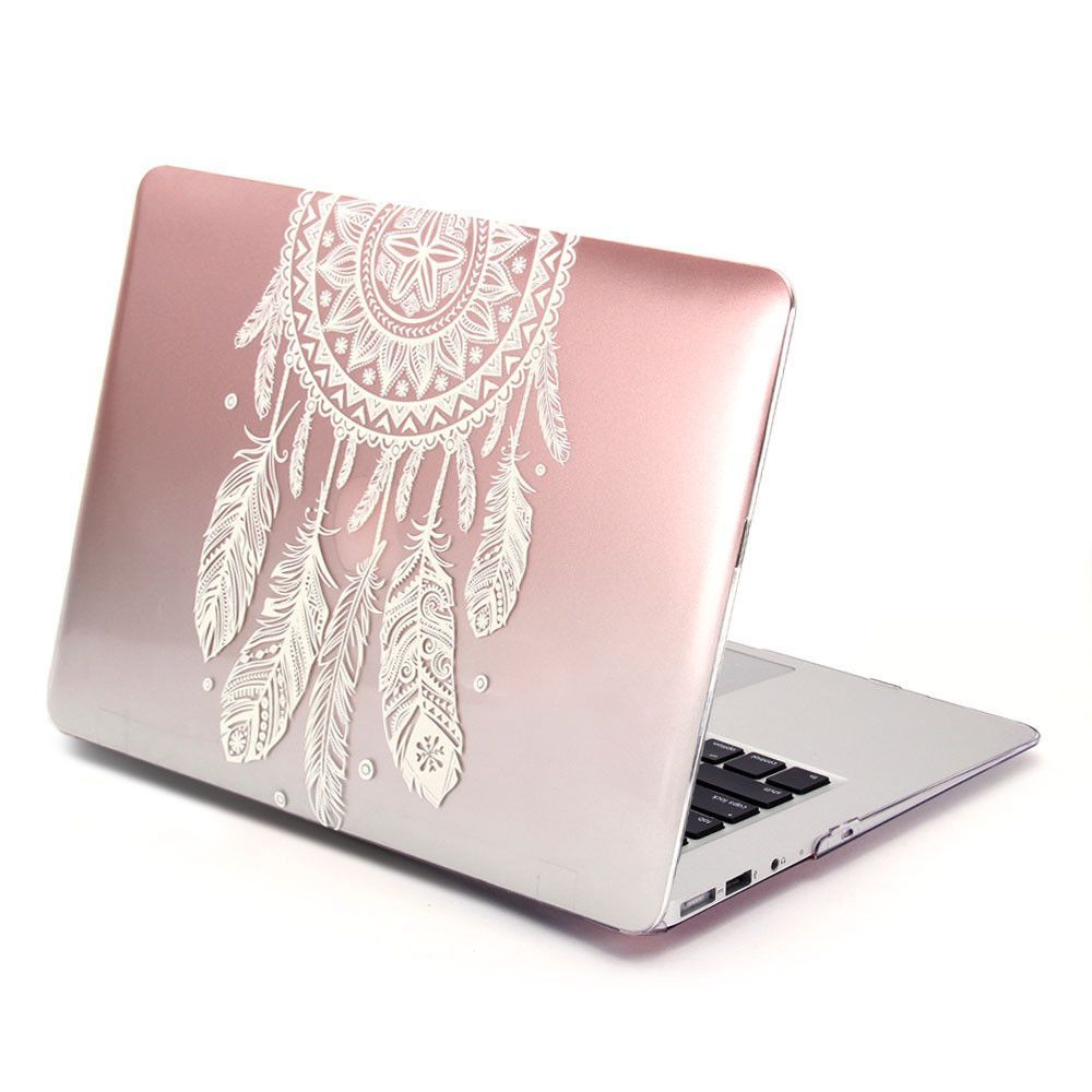 15 Best Images About Notebook Covers Wallpaper Etc On: Hard Case Metallic Color (Dream Catcher Pattern) For Apple