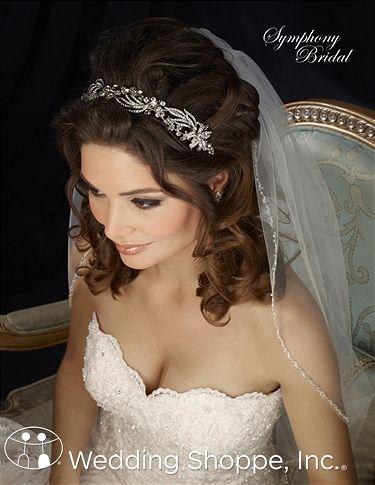 Symphony Bridal Headpiece 7304CR