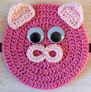 Critter Coaster Pig Found At Bestfreecrochetcom Purses
