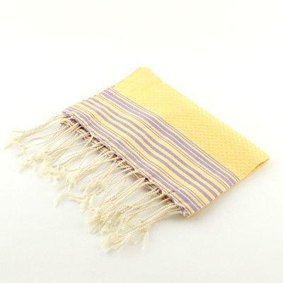 Scents and Feel Guest Towel Positive Negative Hand Towel (Set of 2) Color: Yellow/Lilac