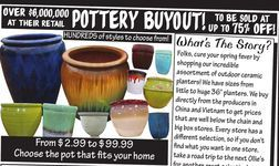 Pottery Buyout From Ollie S Bargain Outlet 2 99 75 Off Pottery Grocery Ollie