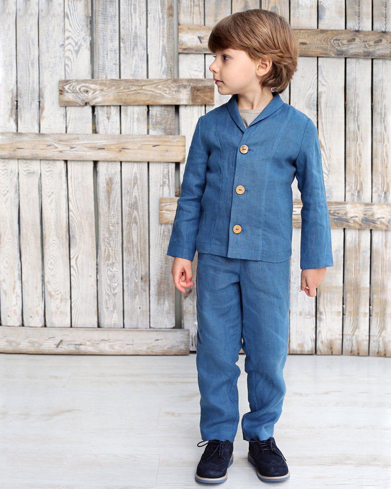 b67830e86057a Boys linen suit, Boys suit set, Toddler suits, Linen boys outfit, Boys suit,  Linen boys outfit, Linen boys suit set, Boys clothing sets by  TinyWhiteStore on ...