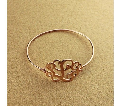 Gold Monogram Bracelet Best Bracelets