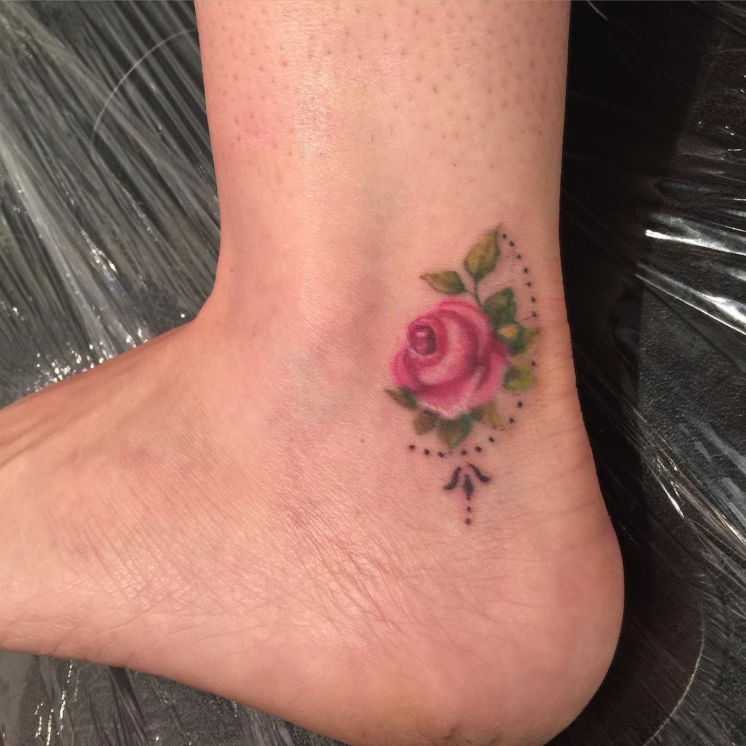 small rose Rose hand tattoo, Hand tattoos, Tattoos