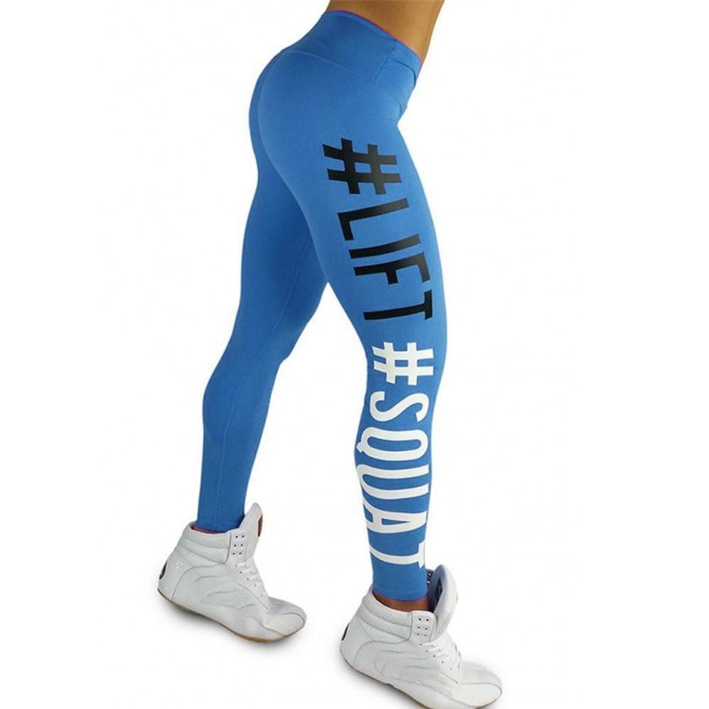 3fff926f51d Women's Fashion Workout Leggings Fitness Sports Gym Running Yoga ...