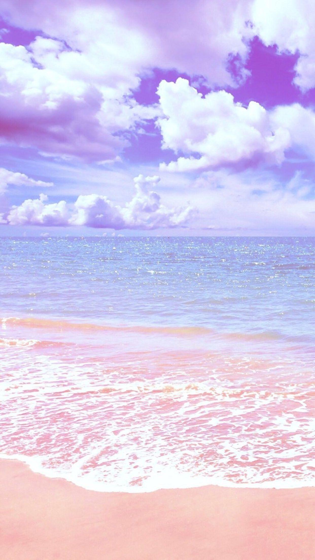 Pink Seas Beautiful Nature Wallpaper Pastel Background Wallpapers Aesthetic Pastel Wallpaper