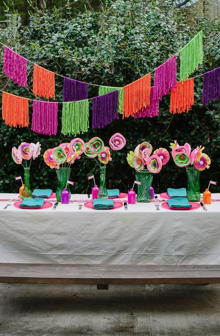 28 Mexican Fiesta Party Diy Ideas For Cinco De Mayo Mexican Party Decorations Summer Party
