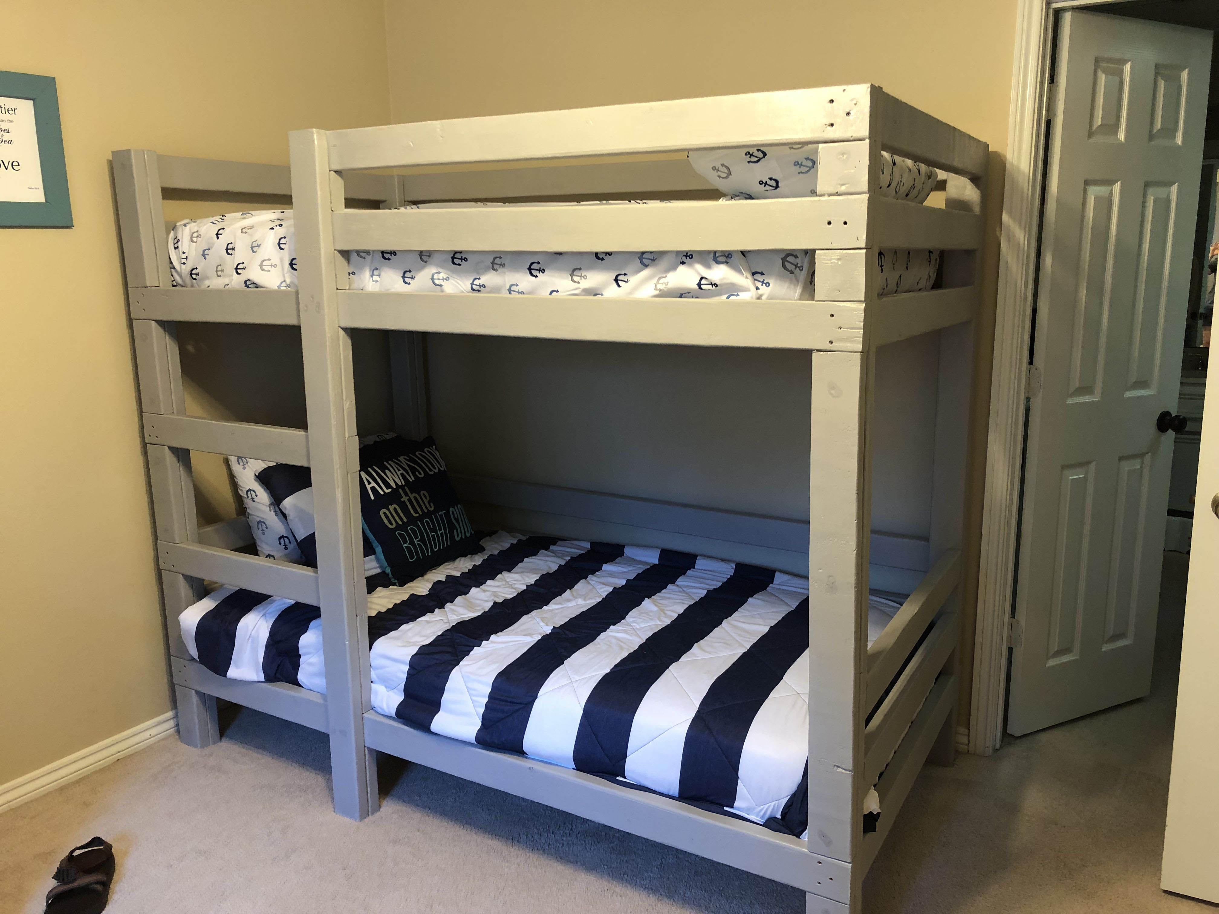 Free Diy Bunk Bed Plans Ideas That Will Save A Lot Of Bedroom Space Kids Bunk Beds Bunk Bed Designs Bunk Beds
