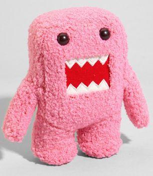 pink plushy domo.