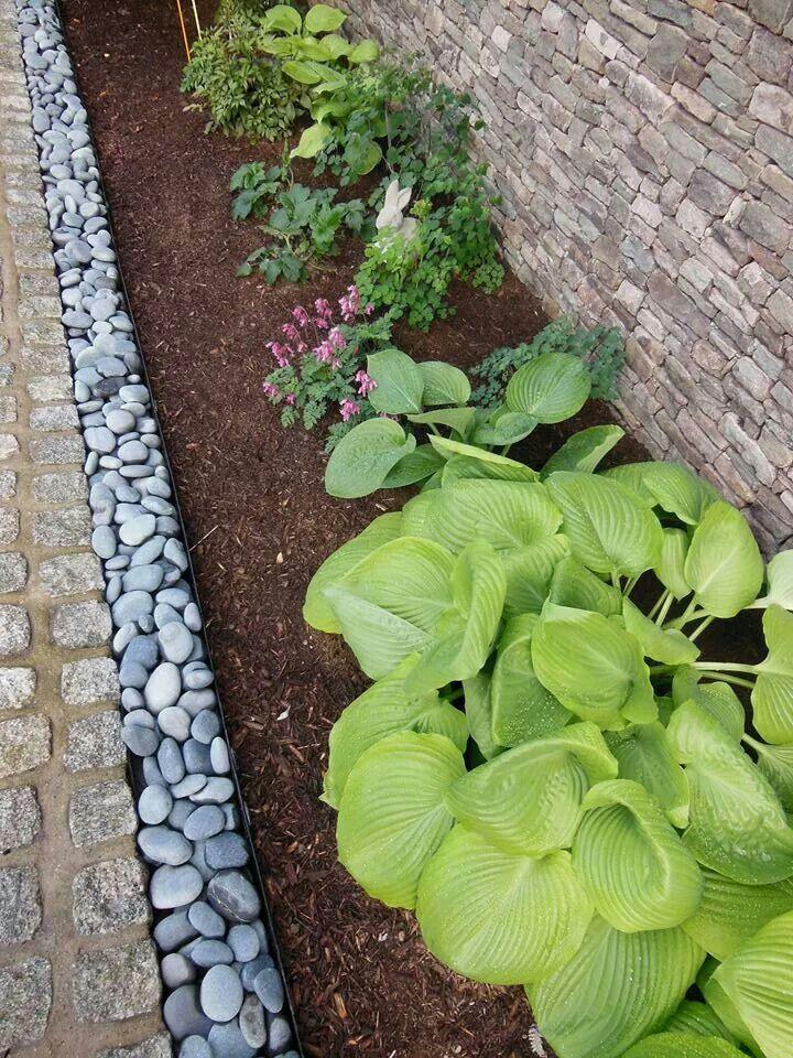 Garden edging idea