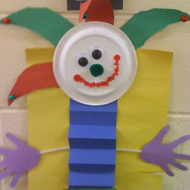 """J"" is for Jack-in-the-Box! Alphabet art projects for kids!"