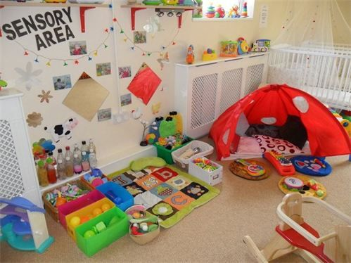 Abc Day Nursery Hyde Yellow Baby Room Nursery Area