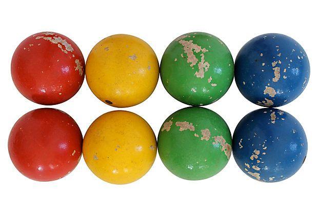 Bocce Balls, Set of 8 on OneKingsLane.com