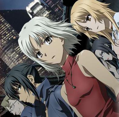 Canaan anime by Kinoko Nasu and Takashi Takeuchi. A secret
