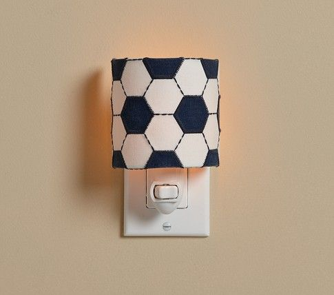 Soccer Nightlight Pottery Barn Kids With Images Night Light