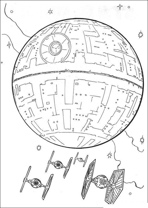 Coloring Page Star Wars Star Wars Mit Bildern Star Wars