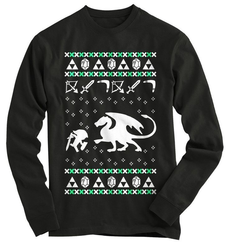 Zelda Ugly Christmas Sweater | cool clothes | Pinterest | Christmas ...