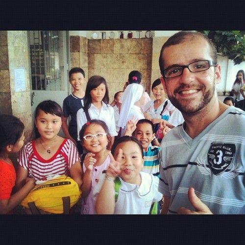 crianças, hello, vietnã - Vietnã Hoje