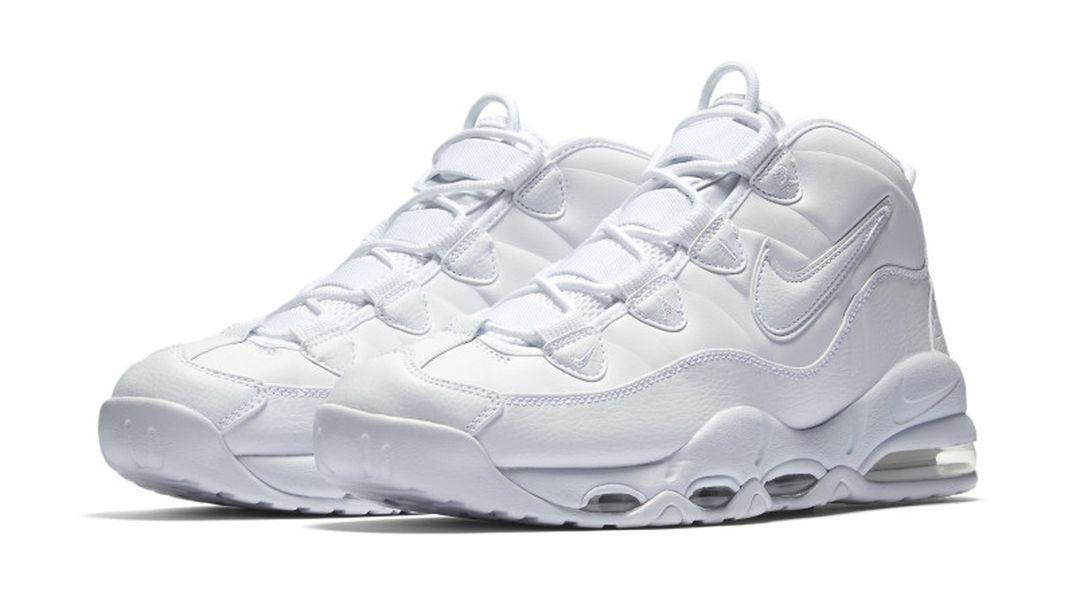 Nike Air Max Uptempo 'Triple White' - EU Kicks: Sneaker Magazine