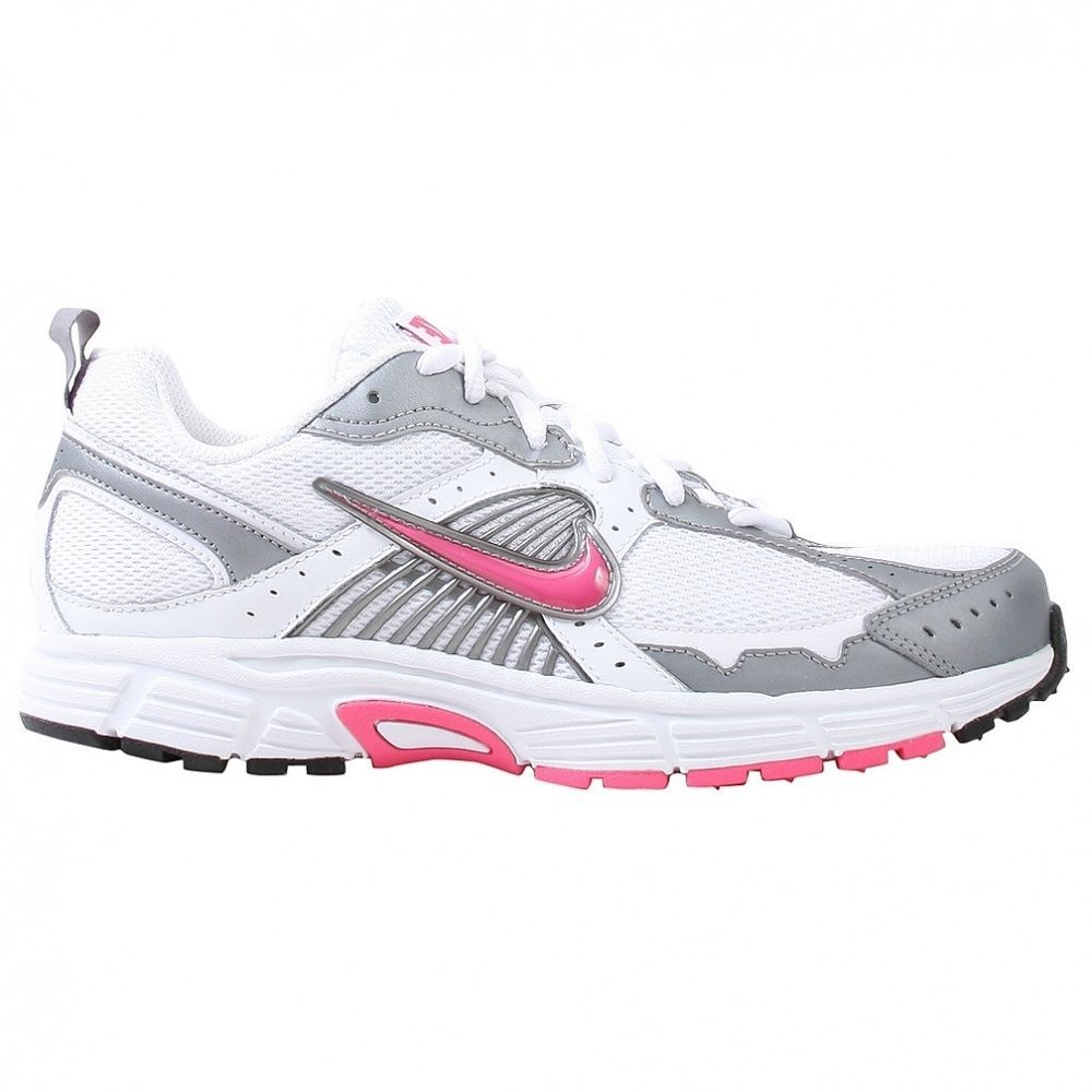 7fd784fb3a817 NEW NIKE DART 7 Running White Light Rose Womens 7.5 (6Y) NIB  Nike  Running