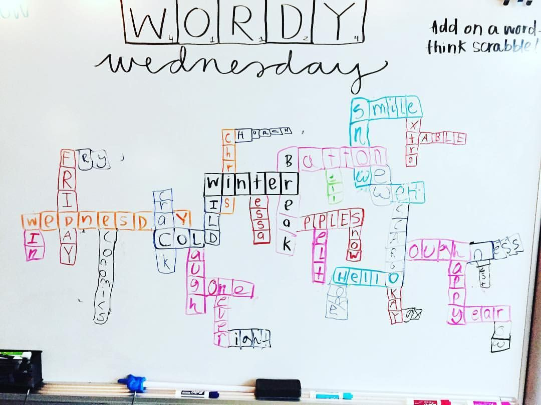 Great Whiteboard Question Of The Day For Wednesday