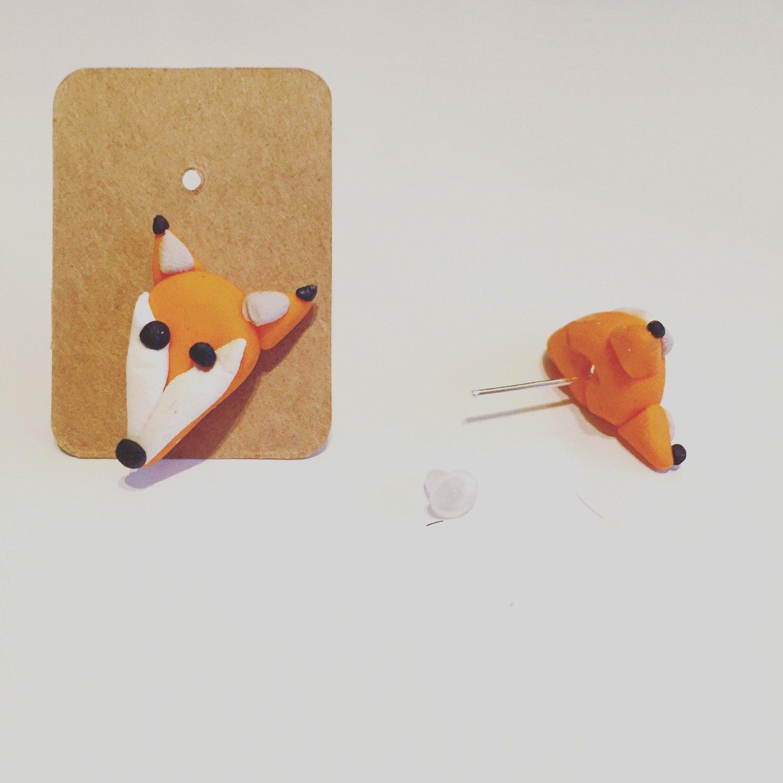 Cute Fox Earrings By Giftsbychloe On Etsy Https