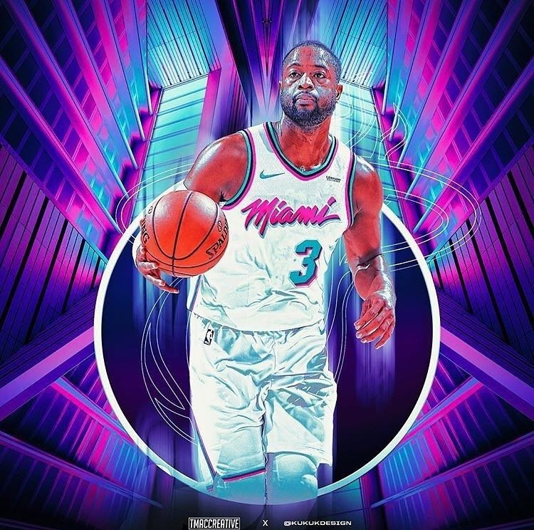 48ae06646 D Wade with the CLUTCH game winner to seal the game 102-101 Edit    tmaccreative -  miamiheat  miamibeach  gorandragic  dwade  miami  nba   basketball  vice ...