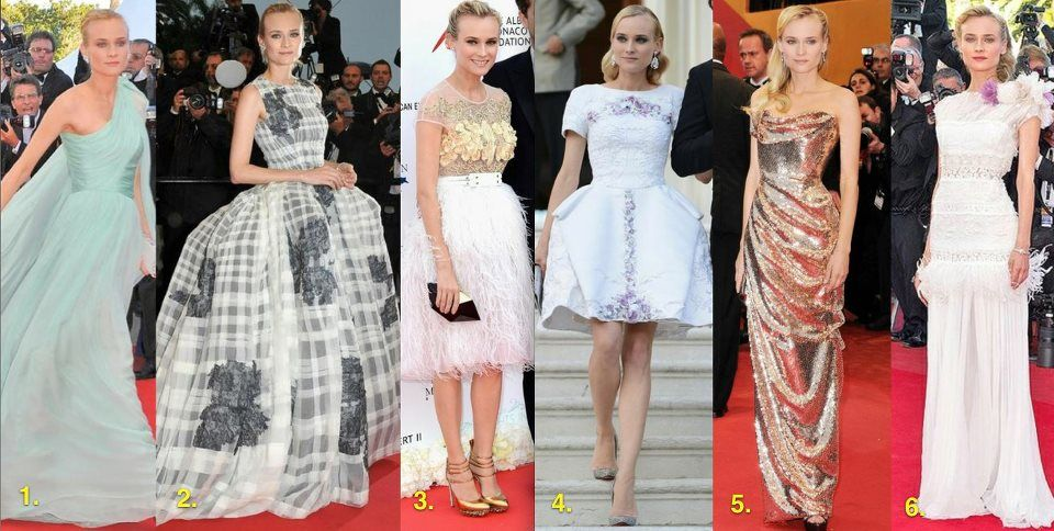 Diane Kruger looked amazing at the Cannes Film Festival!