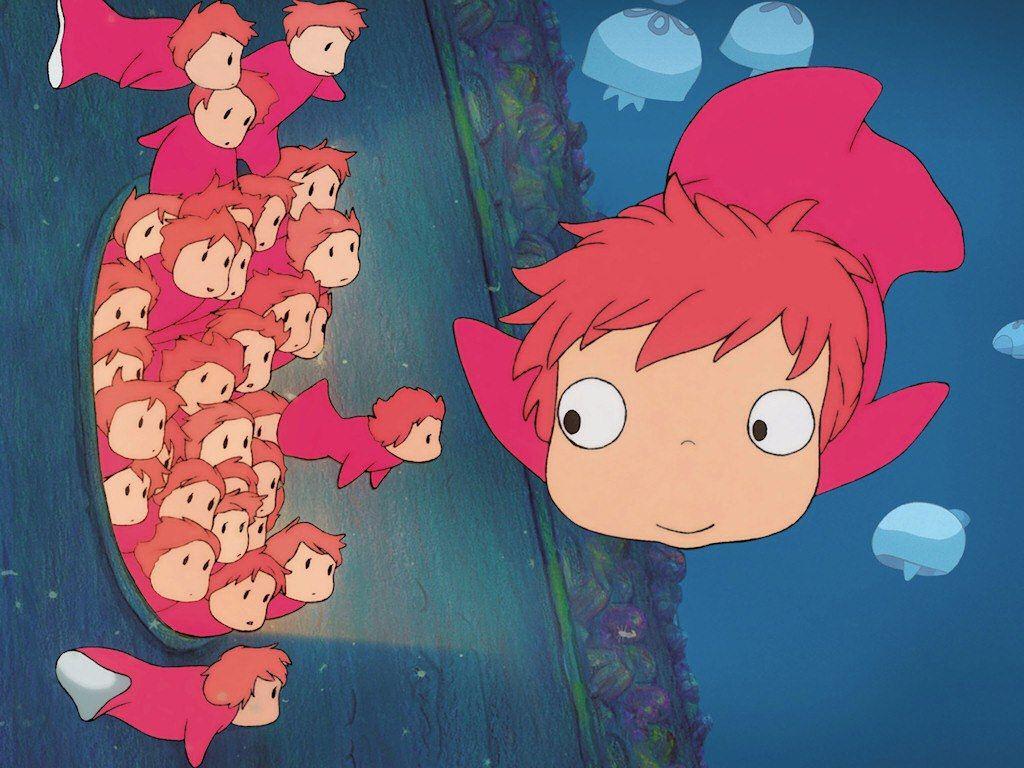 Hayao Miyazaki Et Ghibli La Taverne Du Nain Bavard ポニョ スタジオジブリ ぬりえ ディズニー
