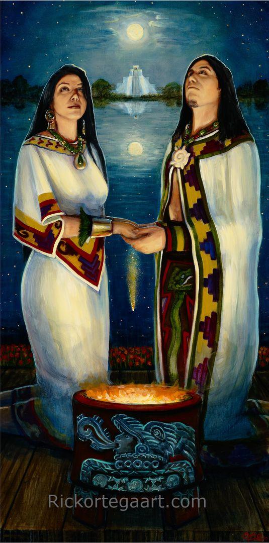 Pinturas Mexicanas Los Aztecas Srie Mxico Pinterest Azteca