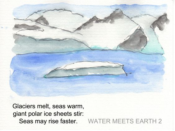 The Entire Ipcc Report In 19 Illustrated Haiku Glaciers Melting