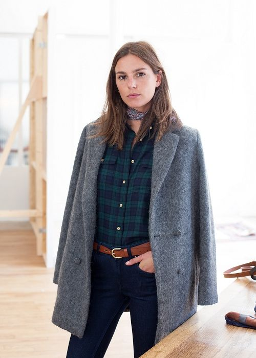 Manteau Octave - Lookbook Automne Hiver - www.sezane.com  sezane  manteau   octave  lookbook d667f6d1b61