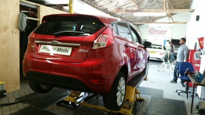 Brand New Ford Fiesta just had the rear parking sensors fitted