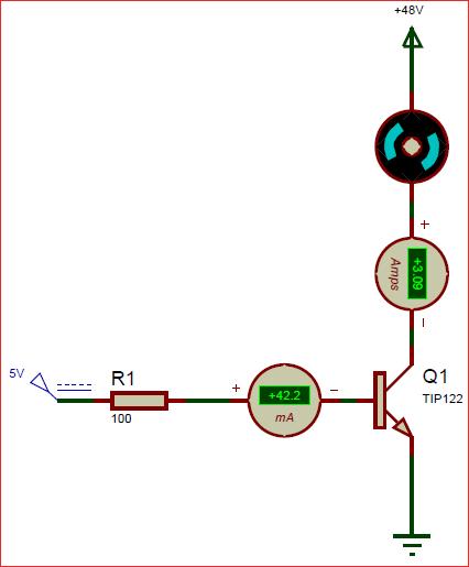 Awe Inspiring Circuit Using Tip122 Darlington Npn Transistor Circuits In 2019 Wiring Database Mangnorabwedabyuccorg