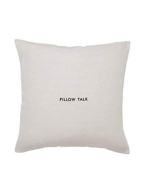 Pillow Talk Decorative Pillow Kate Spade New York Pillows Magnificent Kate Spade Decorative Pillows
