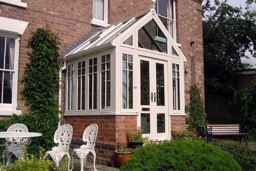 White wood Victorian porch | Wooden Porches | Pinterest ...