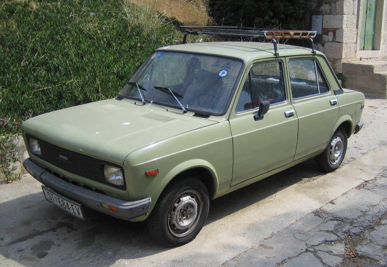 Zastava 128 - A Serbian Car from the 70\'s. http://en.wikipedia.org ...
