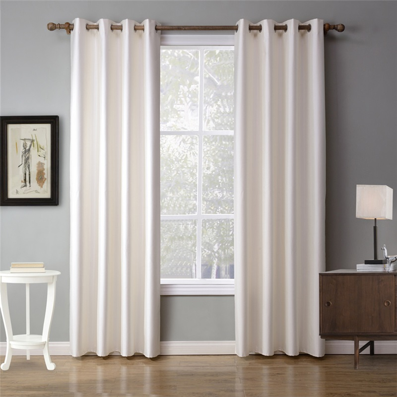 Modern Ready Made Curtain White Solid Color Curtain Bedroom Living Room Curtain Two Panels White Curtains Curtains Living Room Drapes Curtains #white #valances #for #living #room