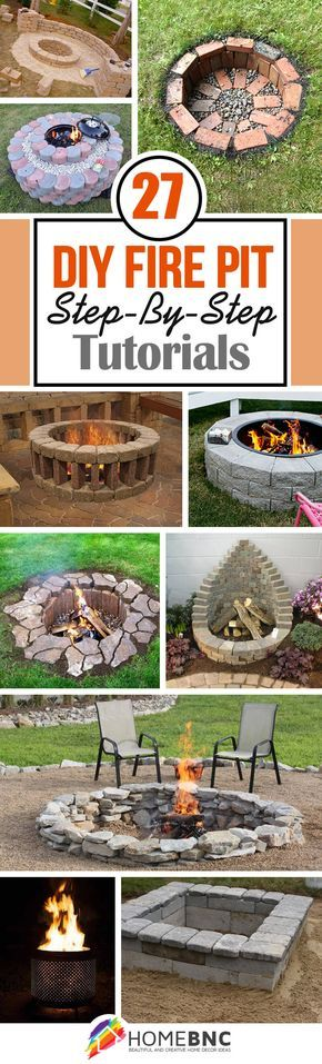 DIY Firepit Projects #stufftobuy