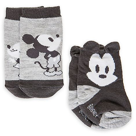 Mickey And Minnie Mouse Sock Set For Baby 2 Pack Boy Pinterest