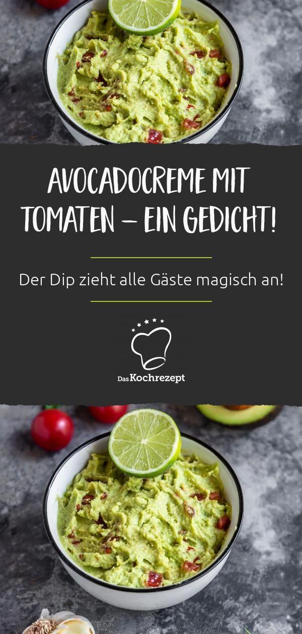 Avocadocreme mit Tomaten