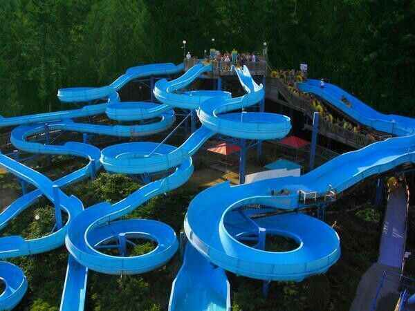 swirly slides