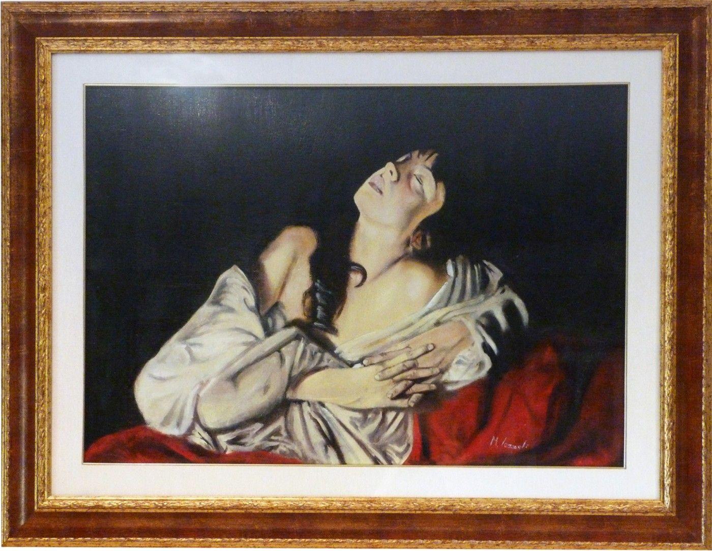 Painting: Maddalena of Marco Iazzoli