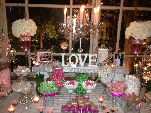 Glamorous Love Candy Buffet Wedding Party Ideas Candy Buffet Wedding Tiffany Wedding Theme Candy Bar Wedding