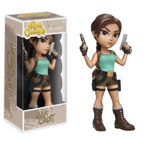 Funko Tomb Raider Rock Candy Laura Croft Vinyl Figure Tomb Raider Tomb Raider Lara Croft Lara Croft