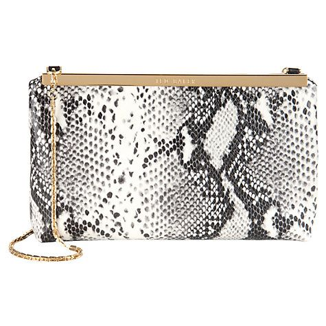 6c8efa85fbff Ted Baker Reni Exotic Clutch Bag