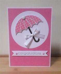 image result for handmade bridal shower cards